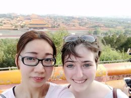 Viewing the Forbidden City from Jingshan Park