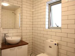Shared Apartment Toilet