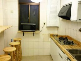 Shared Apartment Kitchen