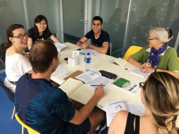 Learning Chinese in groups