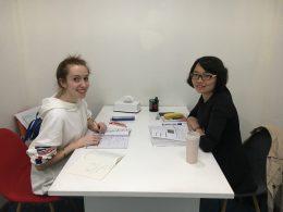 All smiles - Teacher Zoe putting LTL students through their paces