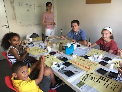 Calligraphy masterclass for Summer Camp