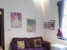 Serviced Apartment Living Room