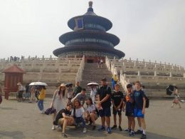 Summer Camp Trip to The Temple of Heaven