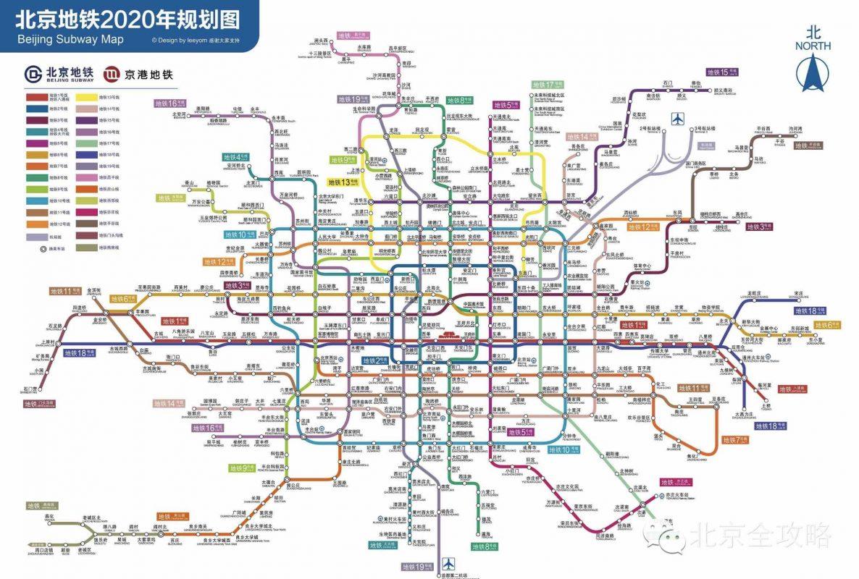 Beijing Metro 2020