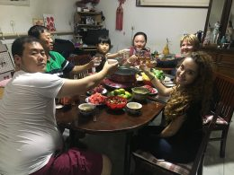 Dinner Time with the Chinese Homestay