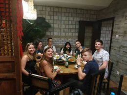 Dinner at a Dumpling Restaurant