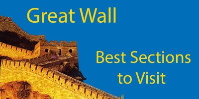 Great Wall of China Map (2020): 10 Best Sections to Visit