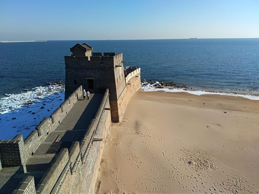 Great Wall of China Map - Where the Great Wall Meets the Sea