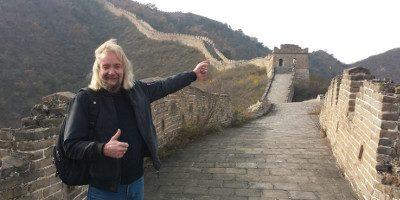 David in Beijing