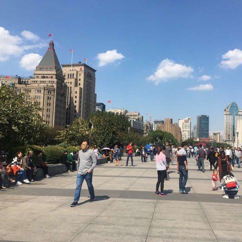 A Weekend in Shanghai - Daytime Bund walk