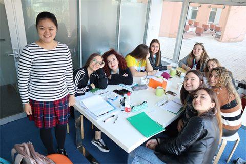 İtalyan Okul Gezisi - Grup Sınıfları