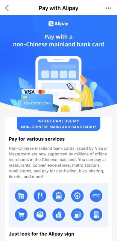 Alipay for Foreigners - 2021 Update