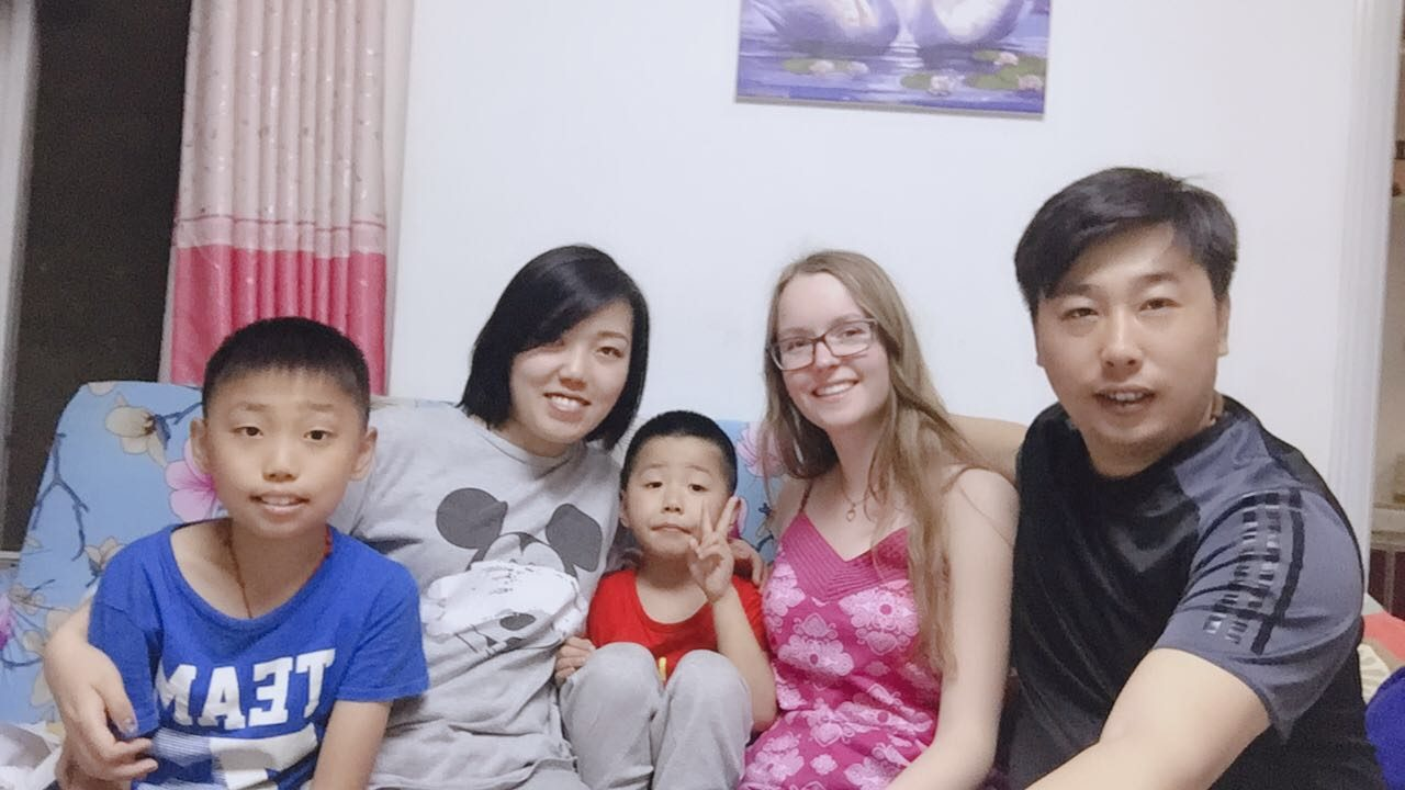 Clara and her Beijing Homestay Family