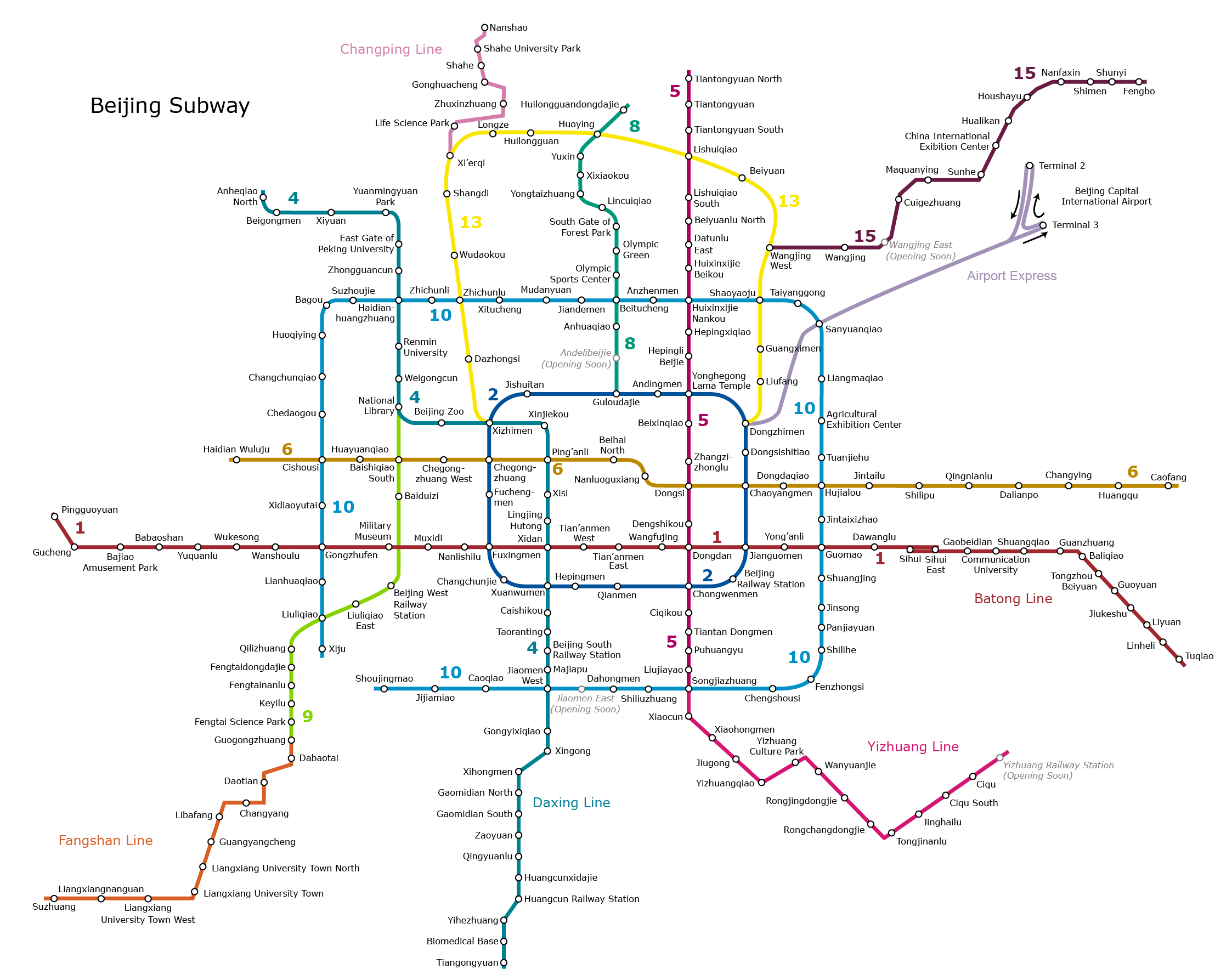 The Beijing Metro - Forever Growing