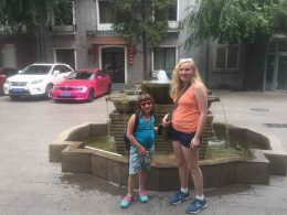 The Chabowski family in China