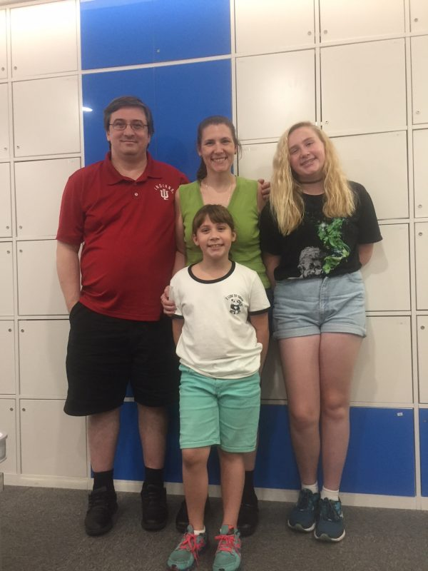 The Chabowski's at LTL Beijing in the Summer of 2018