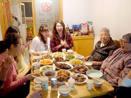 Living with a Chinese Family