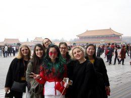 Italian students in Beijing
