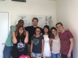 Small Group class at LTL Beijing