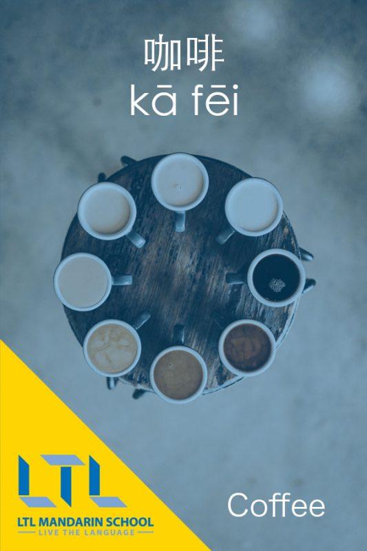 Basic Mandarin - Coffee in Chinese