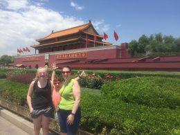 Exploring Beijing after class