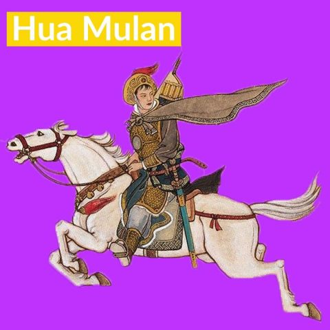famous chinese women hua mulan