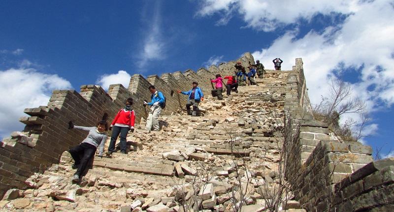 Jiankou (箭扣) Great Wall Map