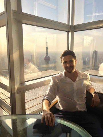 Juan in Shanghai
