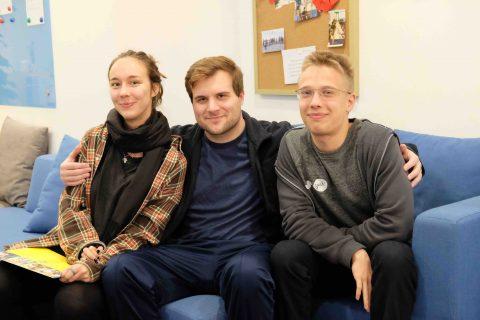 Justus and friends at LTL Beijing