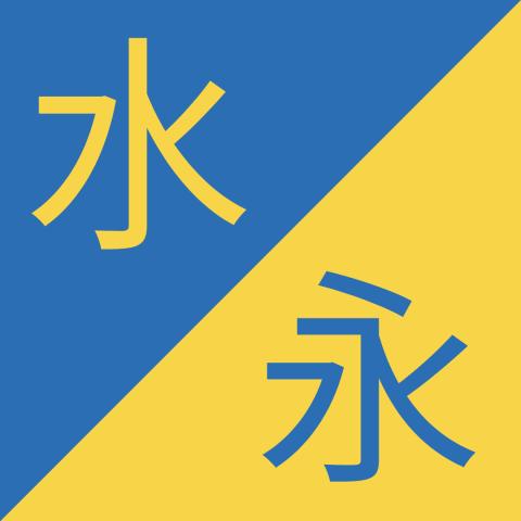 Birbirine Benzeyen Çince Karakterler– 水 / 永 – Shuǐ / Yǒng