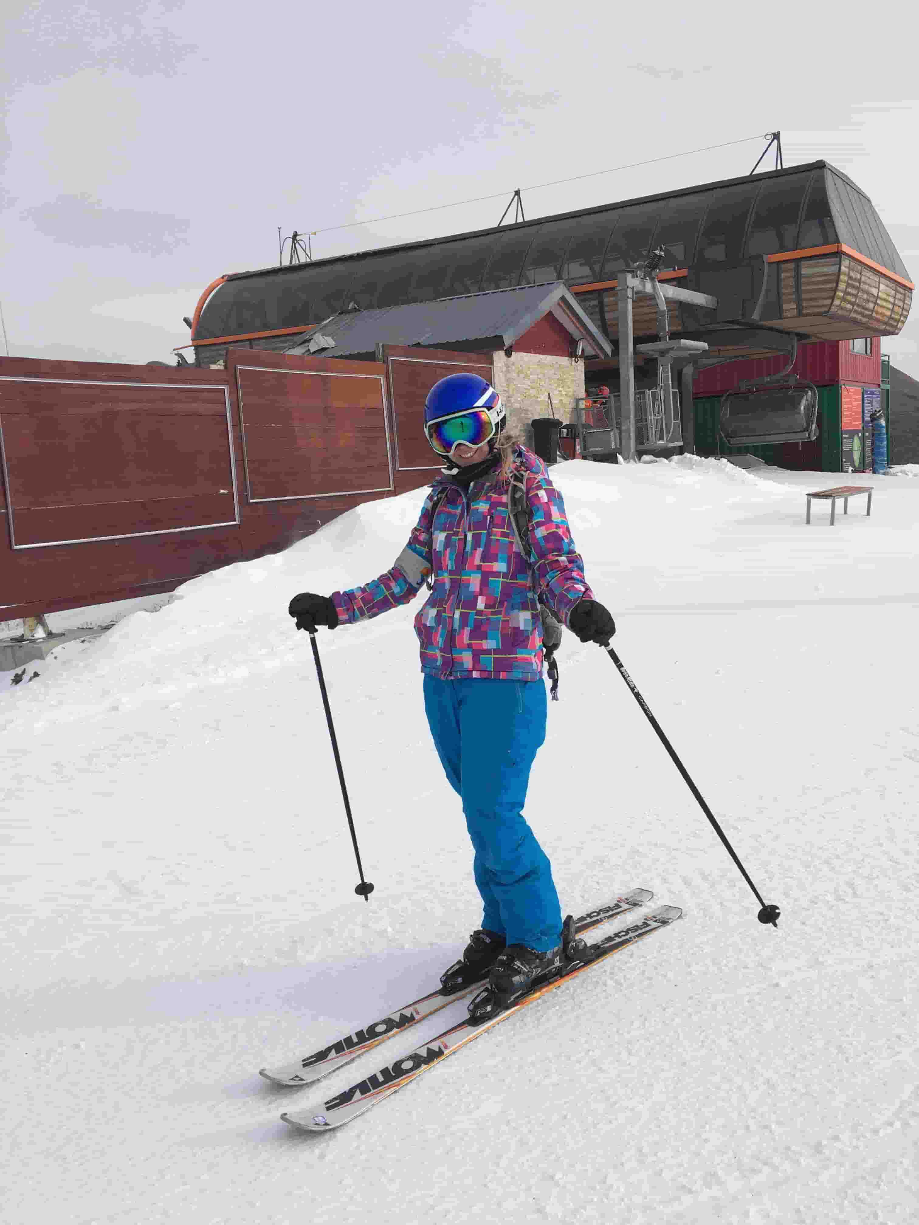 Skiing in China: LTL Student Indie on the slopes