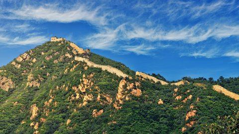 summer in beijing great wall