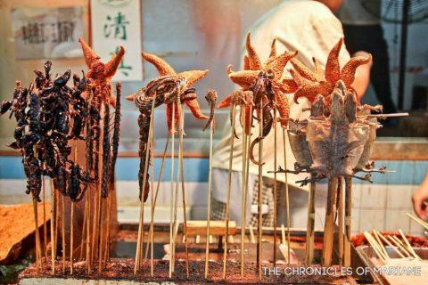 Famous snacks - Wangfujing, Beijing